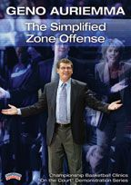 Geno Auriemma: The Simplified Zone Offense