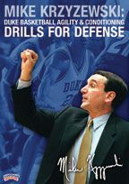 Mike Krzyzewski: Duke Basketball - Agility & Conditioning Drills for Defense