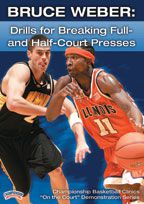 Bruce Weber: Drills for Breaking Full-and Half-Court Presses