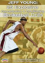 Jeff Young: 25 Explosive Concentration & Conditioning Basketball Drills