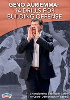 Geno Auriemma: 14 Drills for Building Offense