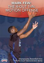 Mark Few: The 4-Out 1-In Motion Offense