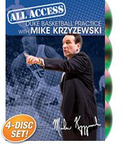 All Access Duke Basketball Practice with Mike Krzyzewski