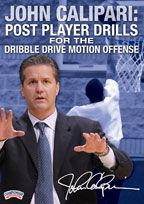 John Calipari: Post Player Drills for the Dribble Drive Motion Offense
