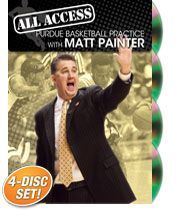 All Access Purdue Basketball Practice with Matt Painter