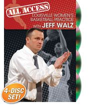All Access Louisville Women's Basketball Practice with Jeff Walz