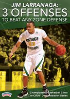 Jim Larranaga: 3 Zone Offenses to Beat Any Zone Defense