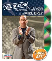 All Access Notre Dame Practice with Mike Brey