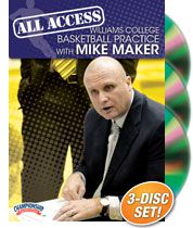 All Access Williams College Basketball Practice with Mike Maker