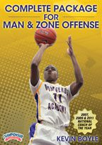 Complete Package for Man & Zone Offense