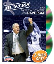 All Access BYU Basketball Practice with Dave Rose