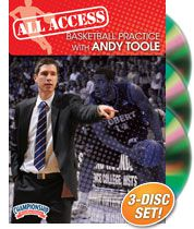 All Access Basketball Practice with Andy Toole
