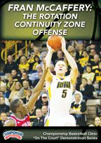 Fran McCaffery: The Rotation Continuity Zone Offense