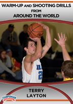 Terry Layton Around the World Basketball Drills 2-Pack