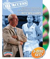 All Access North Carolina Basketball Practice with Roy Williams