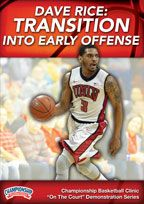 Dave Rice: Transition into Early Offense