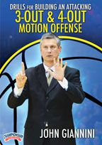 3-Out & 4-Out Motion Offense 2-Pack