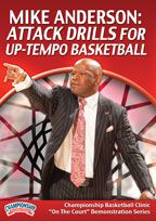 Mike Anderson: Attack Drills for Up-Tempo Basketball