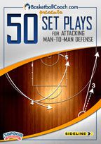 BasketballCoach.com Presents: 50 Set Plays for Attacking Man-to-Man Defense