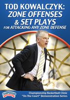 Tod Kowalczyk: Zone Offenses & Set Plays for Attacking Any Zone Defense