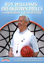 Roy Williams: Breakdown Drills for Individual and Team Defense