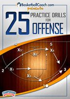 BasketballCoach.com presents: 25 Practice Drills for Offense