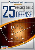 BasketballCoach.com presents: 25 Practice Drills for Defense