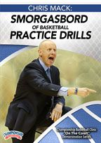 Chris Mack: Smorgasbord of Basketball Practice Drills