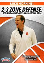 Mike Hopkins: 2-3 Zone Defense - Scouting Adjustments and Breakdown Drills