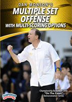 Dan Monson: Multiple Set Offense with Multi-Scoring Options
