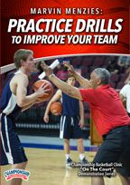 Marvin Menzies: Practice Drills to Improve Your Team