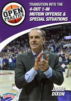 Jamie Dixon: Open Basketball Practice 4-Pack