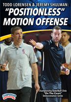 "Todd Lorensen: ""Positionless"" Motion Offense"