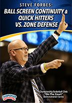 Ball Screen Continuity & Quick Hitters vs. Zone Defense