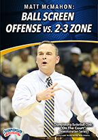 Ball Screen Offense vs. 2-3 Zone