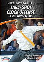 Early Shot Clock Offense and Side Out Specials