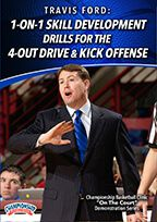 1-on-1 Skill Development Drills for the 4-Out Drive & Kick Offense