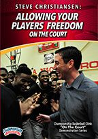 Allowing Your Players Freedom on the Court