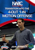 Transition Into the 4-Out 1-In Motion Offense