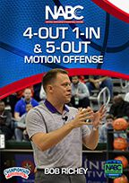 4-Out 1-In and 5-Out Motion Offense