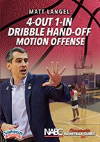 4-Out 1-In Dribble Hand-Off Motion Offense