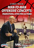Man-to-Man Offensive Concepts: Transition & Effective Actions