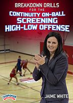 Continuity On-Ball Screening High-Low Offense 2-Pack