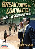 Breakdowns and Continuities for the Ball Screen Motion Offense