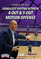 Seamlessly Shifting Between 4-Out & 5-Out Motion Offense