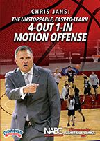 The Unstoppable, Easy-to-Learn 4-Out 1-In Motion Offense