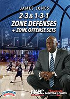 2-3 and 1-3-1 Zone Defenses + Zone Offense Sets