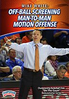 Off-Ball Screening Man-to-Man Motion Offense