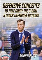 Defensive Concepts to Take Away the 3-Ball & Quick Offensive Actions