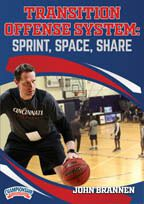 Transition Offense System: Sprint, Space, Share